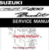 Thumbnail Suzuki GSF400 Bandit Complete Original Service manual